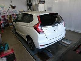 HONDA FIT 1.5 HYBRID F 4WD 2018